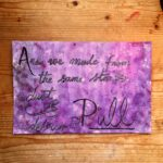 Pull lyric art