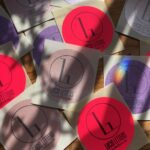 Lucid Letters stickers in the sun